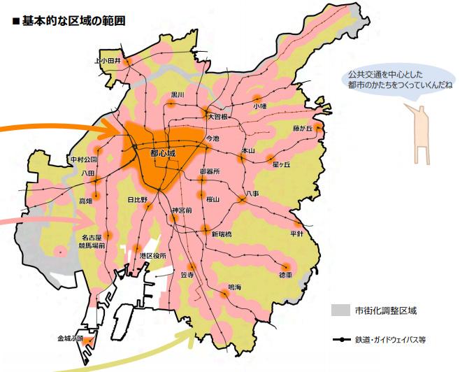 名古屋市集約型まちづくりプラン